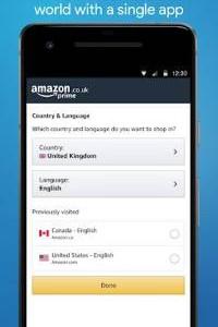 Amazon Shopping screen 7
