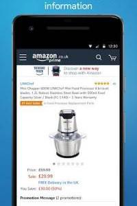 Amazon Shopping screen 4