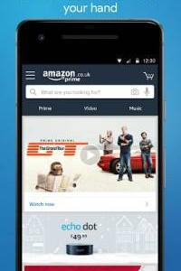 Amazon Shopping screen 1