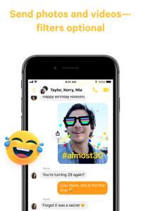 Messenger screen 3