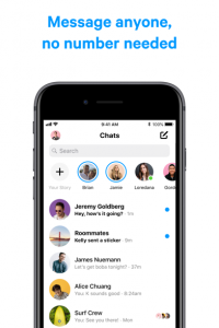 Messenger screen 7