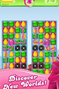 Candy Crush Jelly Saga screen 1