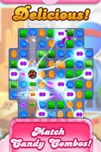 Candy Crush Saga screen 6