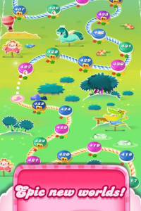 Candy Crush Saga screen 3
