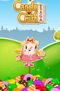 Candy Crush Saga screen 2