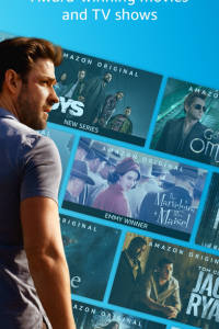 Amazon Prime Video screen 3
