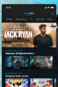 Amazon Prime Video screen 4