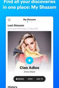 Shazam screen 3