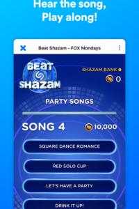 Shazam screen 1