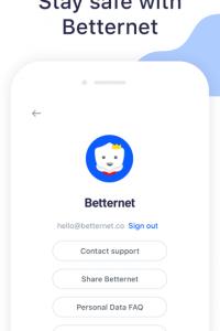 Best VPN Proxy Betternet screen 1