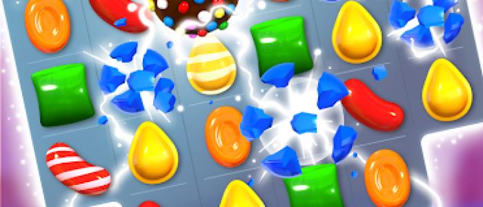 Candy Crush Saga screen 1