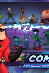 Disney Heroes: Battle Mode screen 4