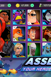 Disney Heroes: Battle Mode screen 7