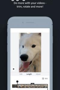 Adobe Spark Post screen 2