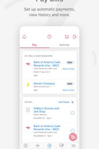Bank of America - Mobile Banking screen 2