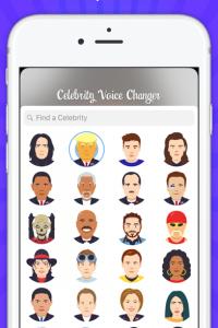 Celebrity Voice Changer -Emoji screen 3
